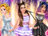 Arianas Concert With Princesses