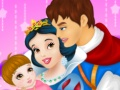 Snow White And Prince Care Newborn Princess
