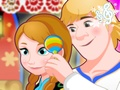 Anna And Kristoff Care Newborn Princess