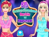 Bffs Fashion Showdown Barbie Vs Rapunzel