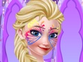 Frozen Elsa Face Art