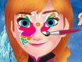 Frozen Anna Face Painting