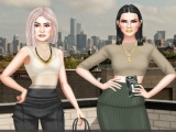 Kendall Vs Kylie Yeezy Edition