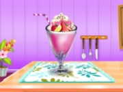 Milkshake Cooking And Decoration