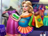 Pregnant Mommy Realife Shopping