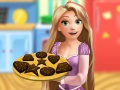 Rapunzel cooking Chocolate