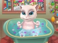 Talking Angela Bathing Bunny